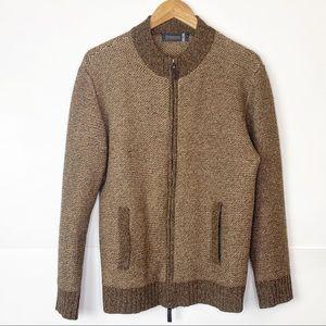 GUC Men Fisherman Out of Ireland Full Zip Sweater